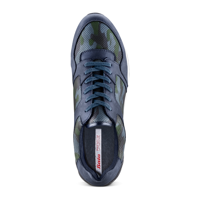 Men's shoes bata, Bleu, 841-9479 - 17