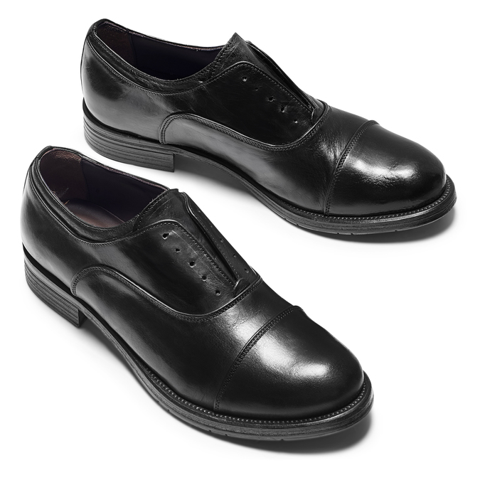 Men's shoes bata, Noir, 824-6158 - 26