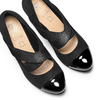 Women's shoes insolia, Noir, 729-6174 - 26