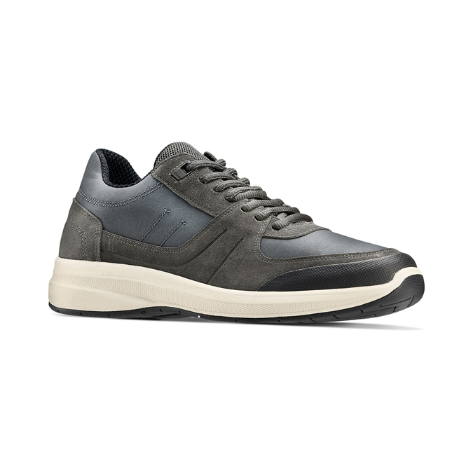 Men's shoes bata-light, Gris, 843-2418 - 13