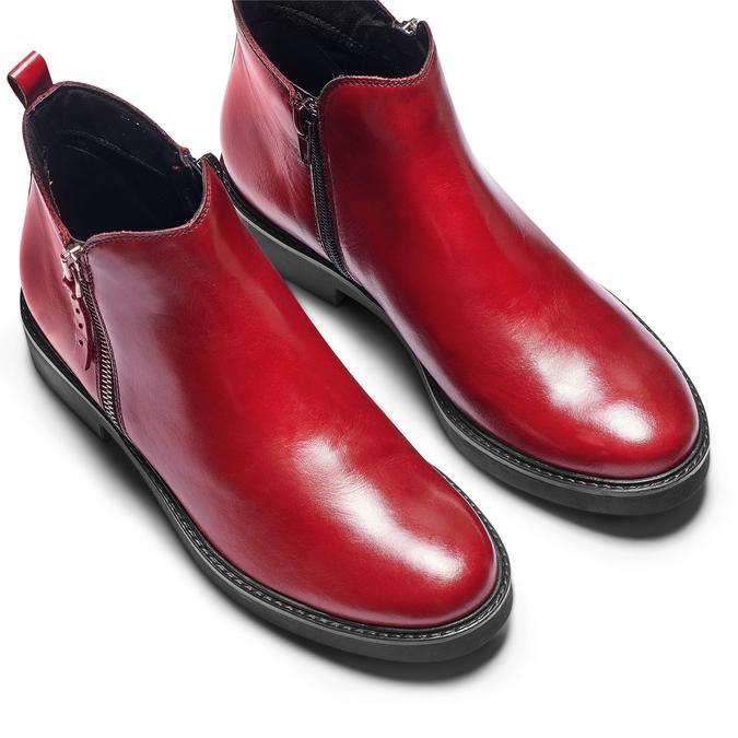 Women's shoes bata, Rouge, 594-5935 - 17