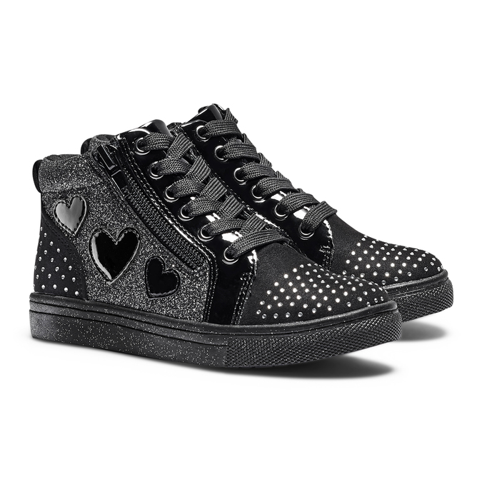 CHILDRENS SHOES mini-b, Noir, 229-6226 - 26