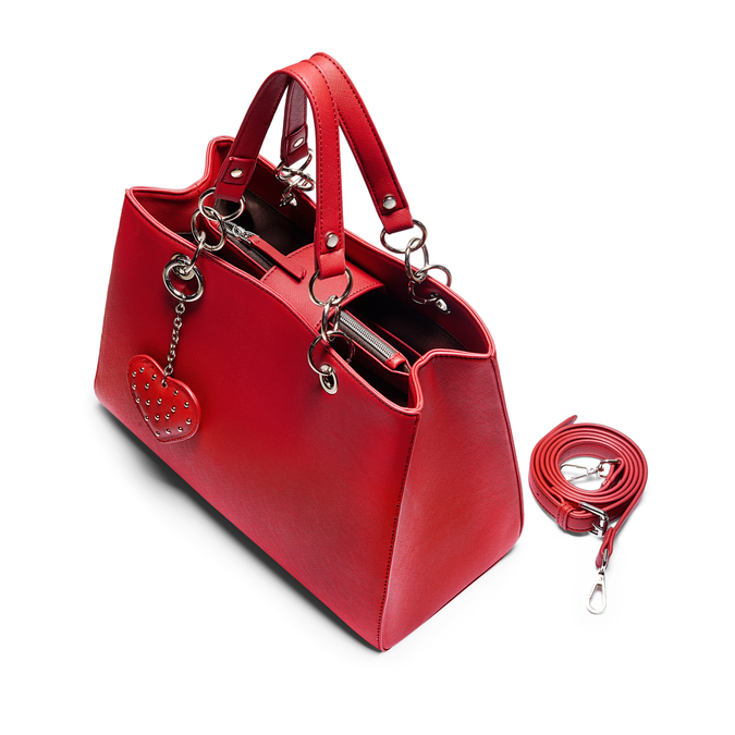 Bag bata, Rouge, 961-5282 - 17