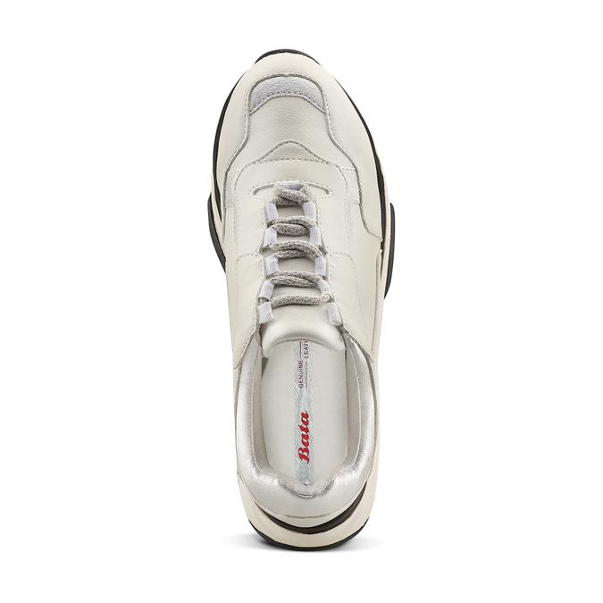 BATA Chaussures Femme bata, Blanc, 541-1160 - 17