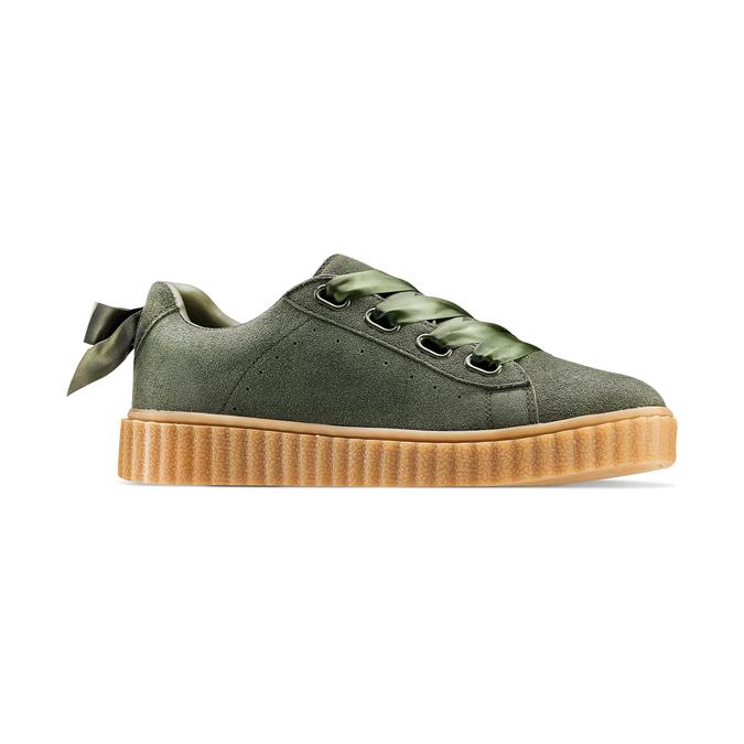 Women's shoes bata, Vert, 543-7415 - 13