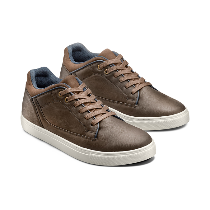 Men's Shoes bata, Brun, 841-4496 - 16