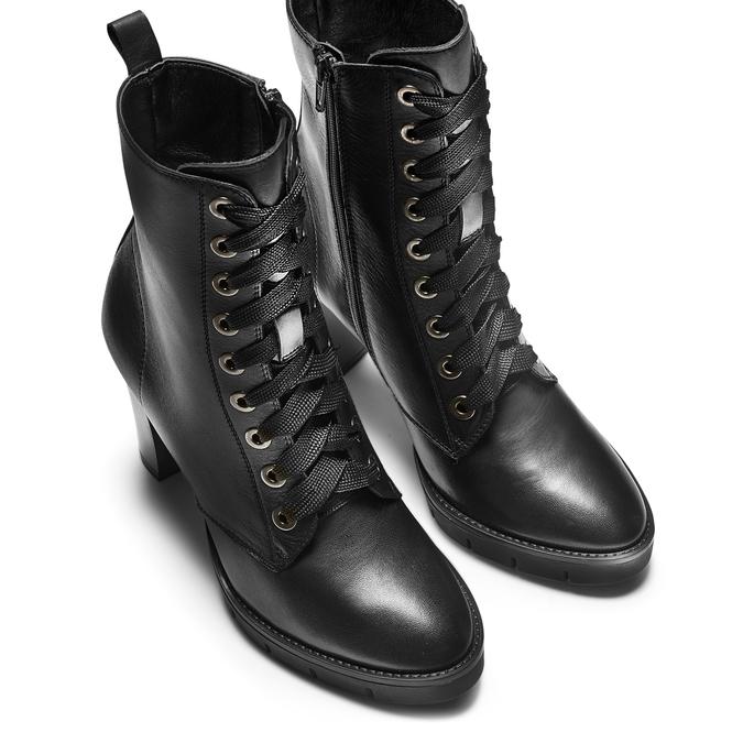 Women's shoes flexible, Noir, 794-6211 - 17