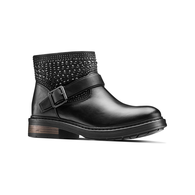 BATA Chaussures Femme bata, Noir, 591-6912 - 13