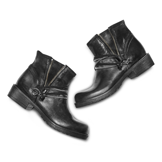 BATA Chaussures Femme bata, Noir, 594-6566 - 26