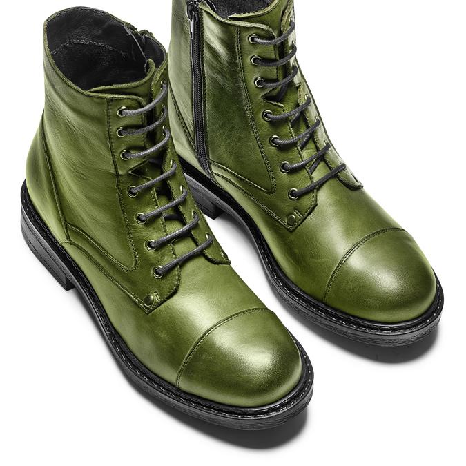 Women's shoes bata, Vert, 594-7963 - 17