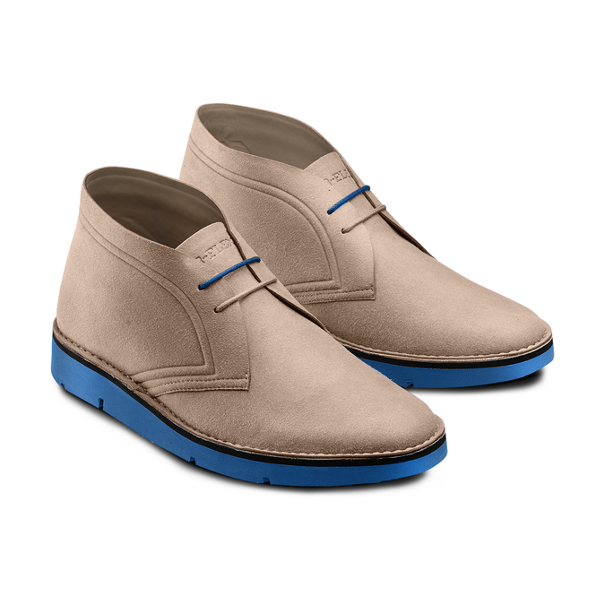 Men's shoes bata-b-flex, Jaune, 849-8578 - 16