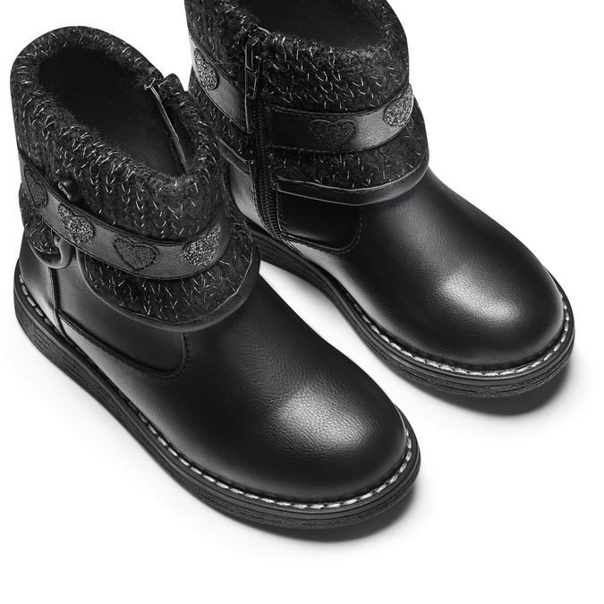 CHILDRENS SHOES mini-b, Noir, 291-6180 - 17
