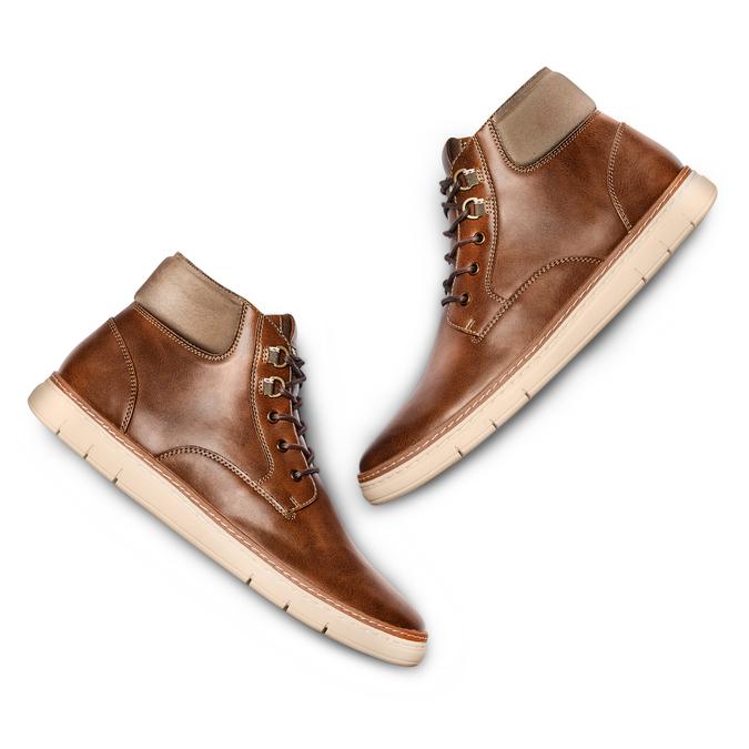 Men's shoes bata-rl, Brun, 891-4252 - 26