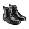 Men's shoes flexible, Noir, 894-6236 - 16