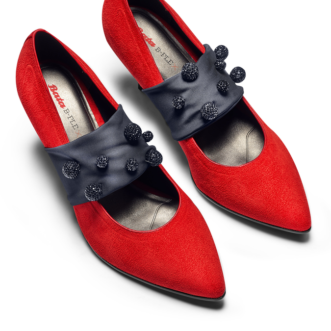 BATA B FLEX Chaussures Femme bata-b-flex, Rouge, 729-5184 - 26