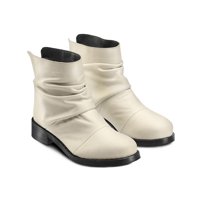 BATA Chaussures Femme bata, Blanc, 594-1622 - 16