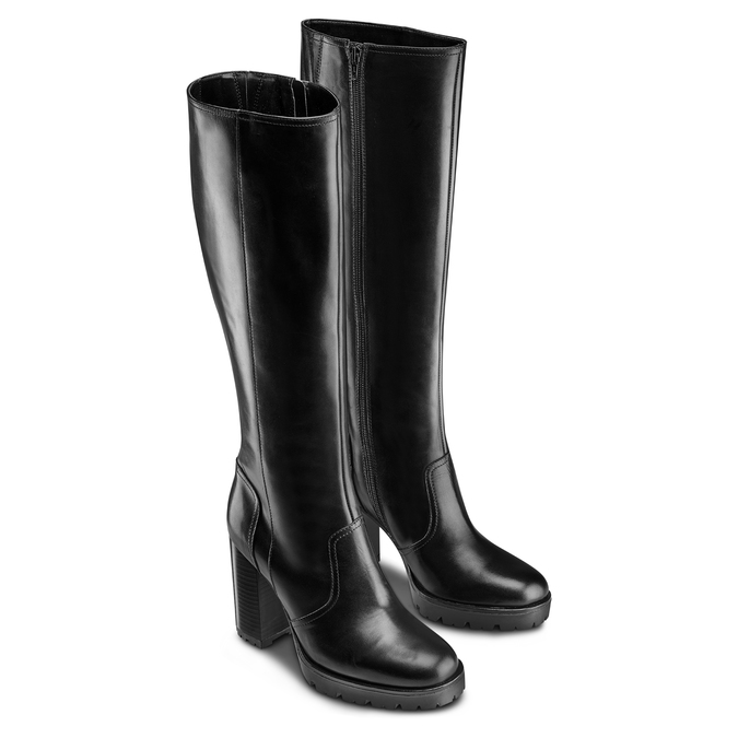 Women's shoes bata, Noir, 794-6507 - 16