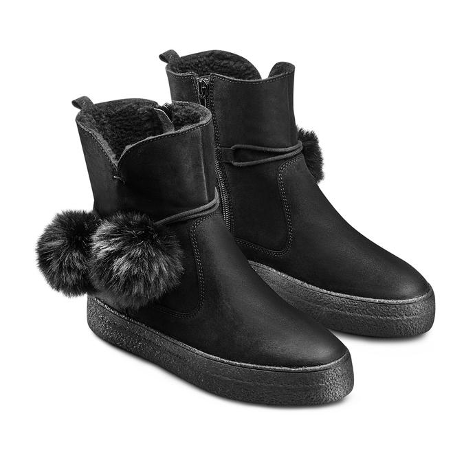 WEINBRENNER Chaussures Femme weinbrenner, Noir, 596-6985 - 16