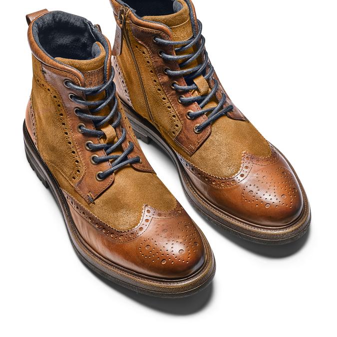 Men's shoes bata, Brun, 893-3294 - 17