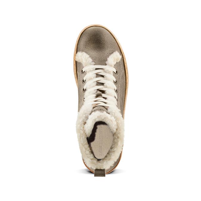 Women's shoes weinbrenner, Gris, 596-2971 - 17