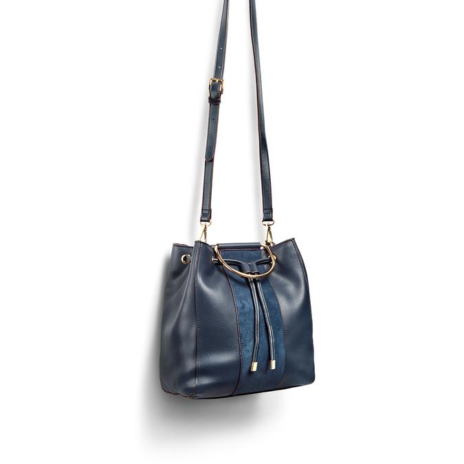 BATA Sac Femme bata, Bleu, 961-9446 - 17