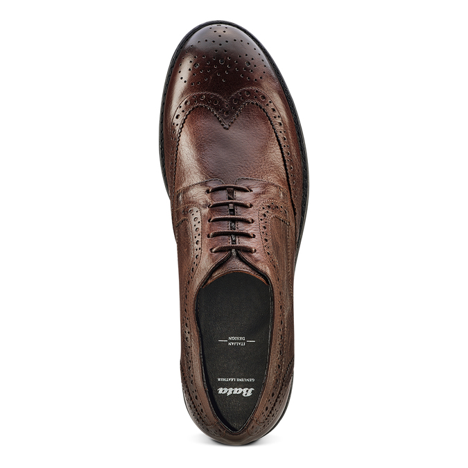 Men's shoes bata, Brun, 824-4568 - 17