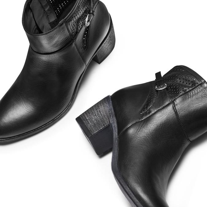 BATA Chaussures Femme bata, Noir, 794-6463 - 26