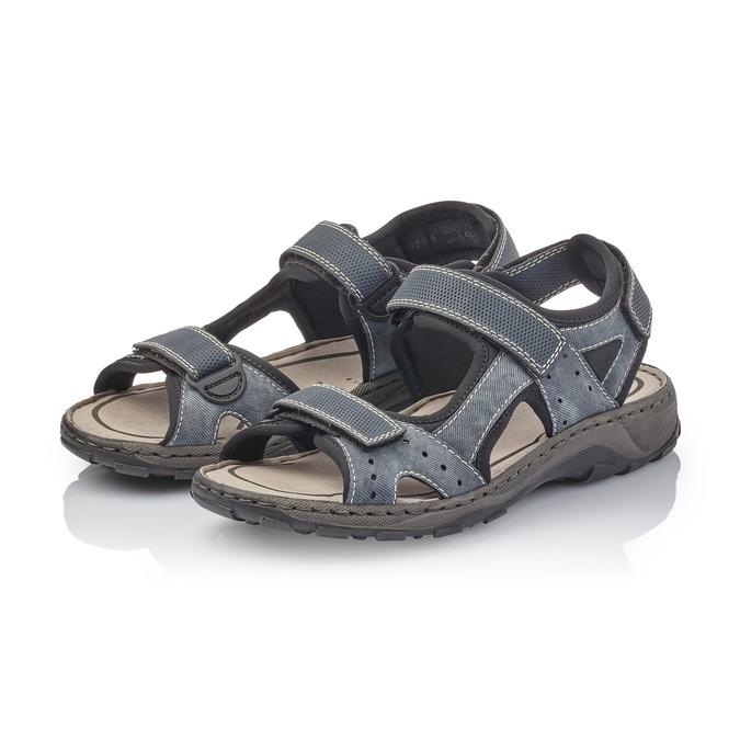 RIEKER Chaussures Homme rieker, Bleu, 861-9199 - 26