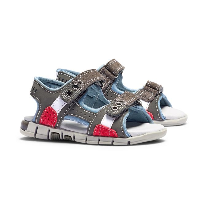 Childrens shoes mini-b, Gris, 263-2205 - 26