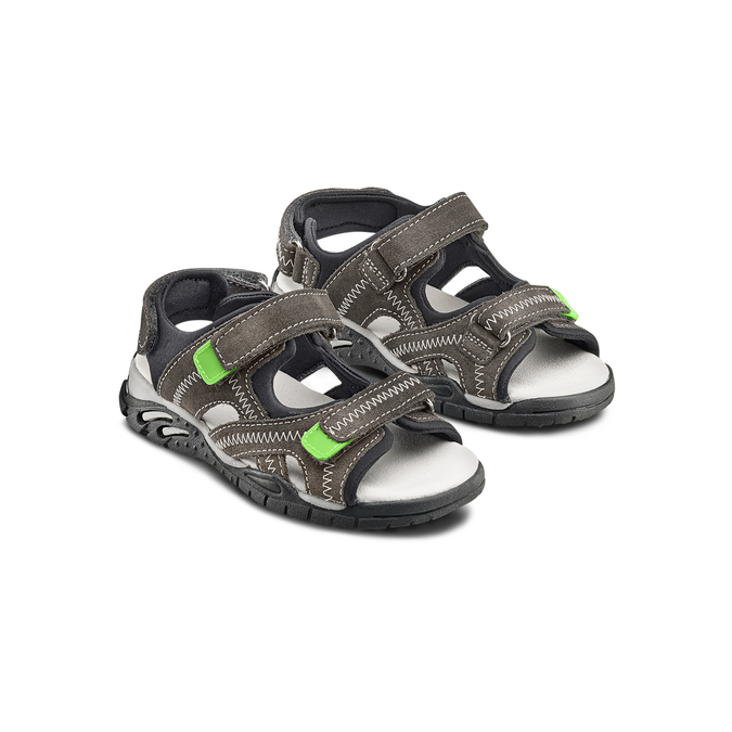 Childrens shoes mini-b, Gris, 363-2244 - 16
