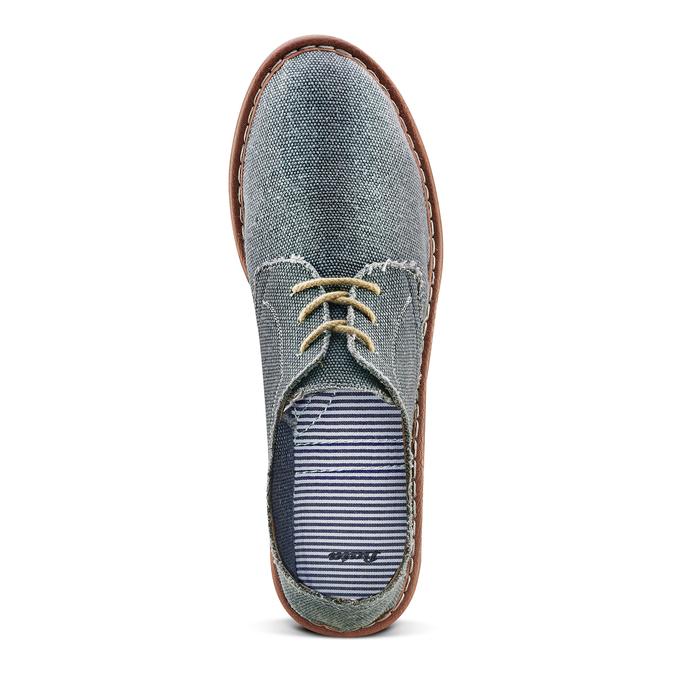 Men's shoes bata, Bleu, 859-9204 - 17