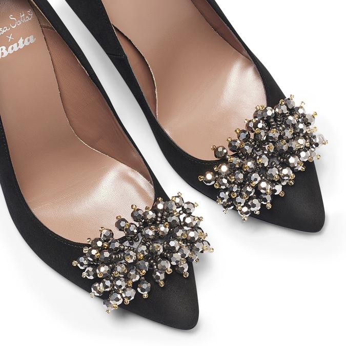 BATA M Chaussures Femme, Noir, 723-6261 - 19