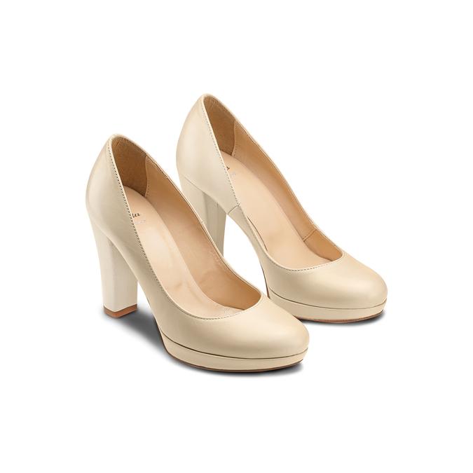 BATA Chaussures Femme bata, Beige, 724-8725 - 16