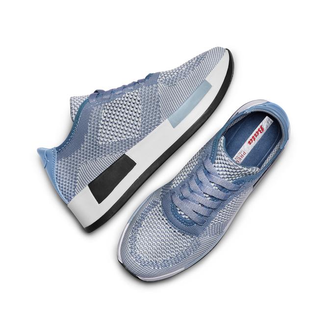 BATA Chaussures Femme bata, Bleu, 549-9438 - 26