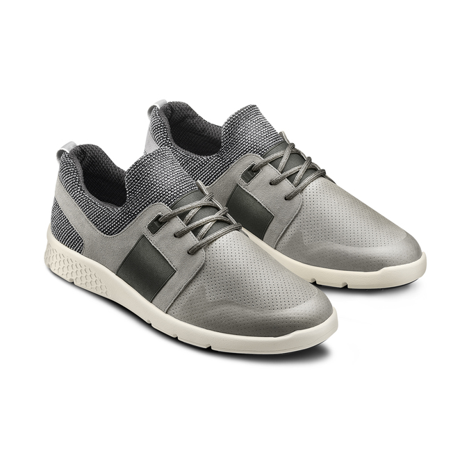BATA LIGHT Chaussures Homme bata-light, Gris, 843-2347 - 16