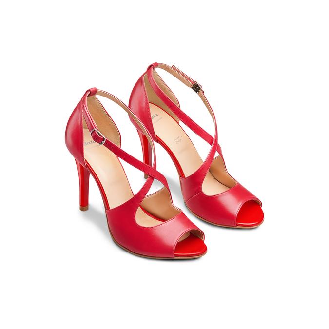 BATA Chaussures Femme bata, Rouge, 724-5368 - 16