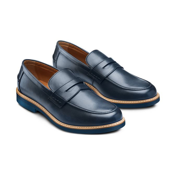 BATA Chaussures Homme bata, Bleu, 814-9190 - 16