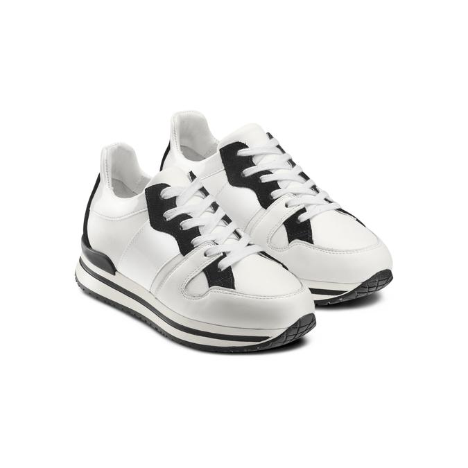 BATA Chaussures Femme bata, Blanc, 544-1443 - 16