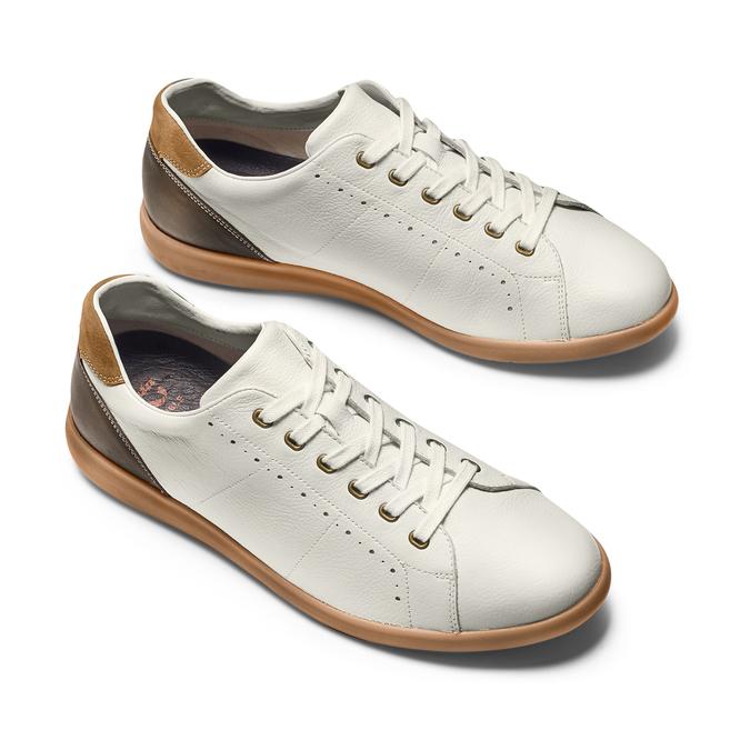 FLEXIBLE Chaussures Homme flexible, Blanc, 844-1341 - 26