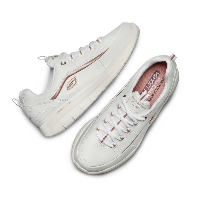 Chaussures Femme skechers, Blanc, 501-1417 - 26