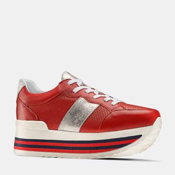 BATA Chaussures Femme bata, Rouge, 644-5111 - 13