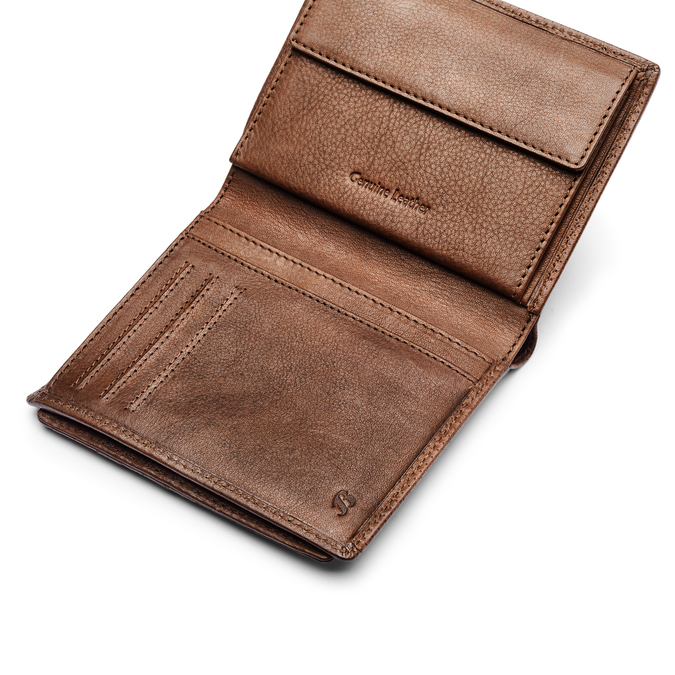 BATA Geldbörse Herren bata, Braun, 944-4245 - 15