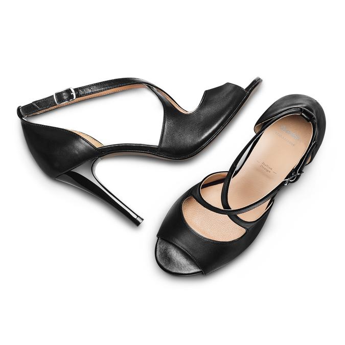 BATA Chaussures Femme bata, Noir, 724-6368 - 26