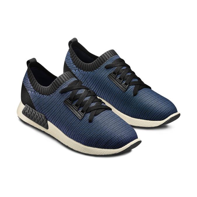 BATA Chaussures Homme bata, Bleu, 839-9151 - 16