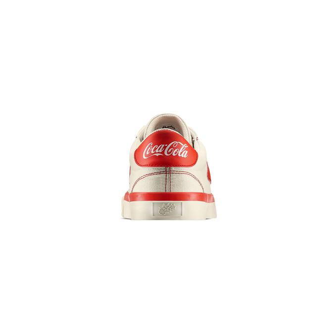 Bata Heritage x Coca Cola Homme bata-coca-cola, Blanc, 889-1326 - 15