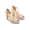 Chaussures Femme insolia, Jaune, 724-8338 - 16