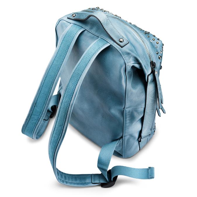 BATA Sac Femme bata, Bleu, 961-9447 - 17
