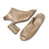BATA Chaussures Femme bata, Gris, 761-2301 - 26