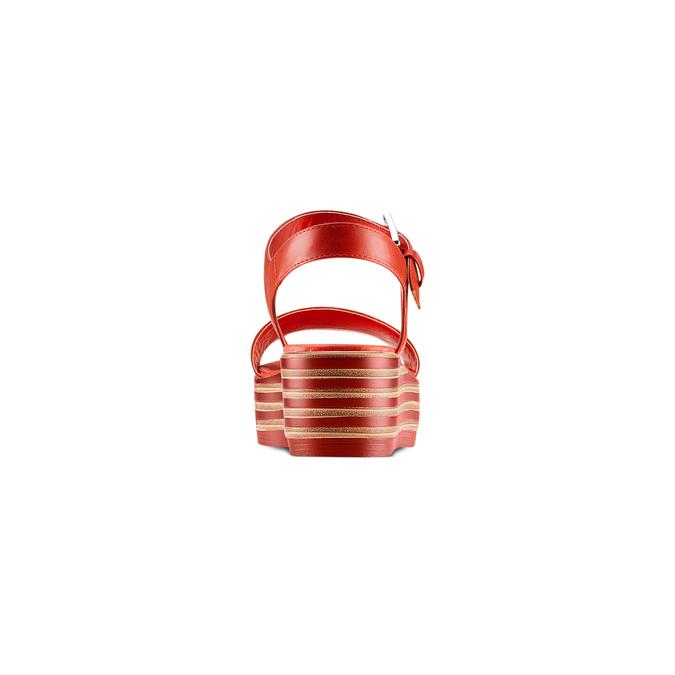 BATA Chaussures Femme bata, Rouge, 761-5670 - 15