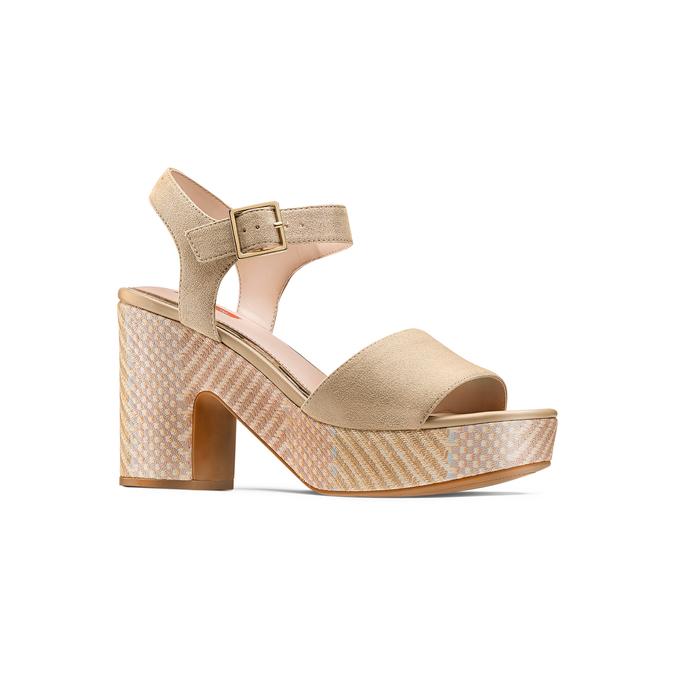 BATA RL Chaussures Femme bata-rl, Jaune, 769-8148 - 13